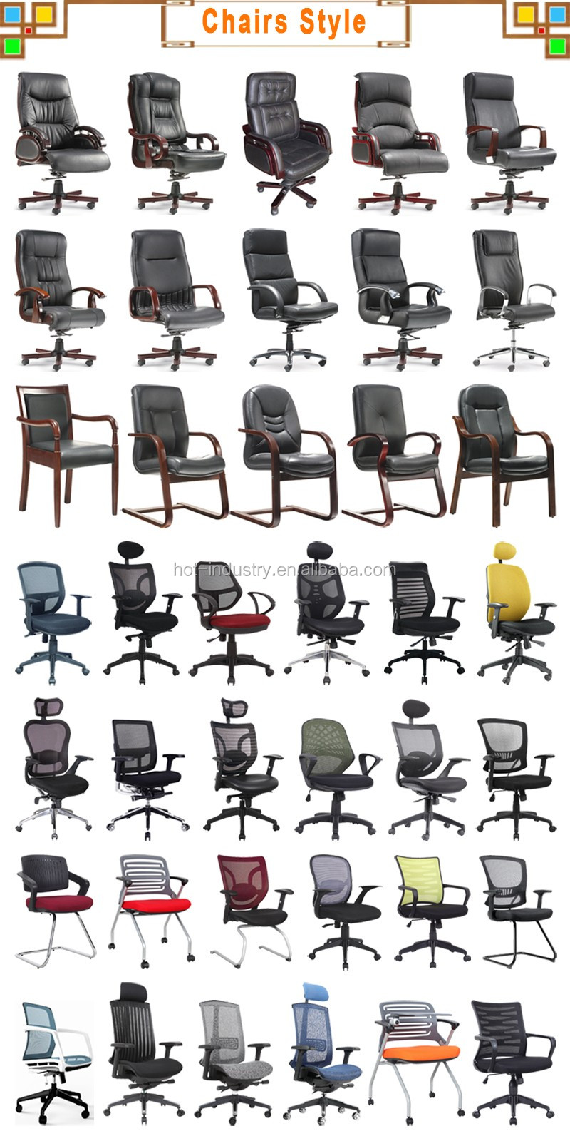 High Back White Computer Chair High Quality Office Furniture Malaysia Office  Chair Parts Armrest