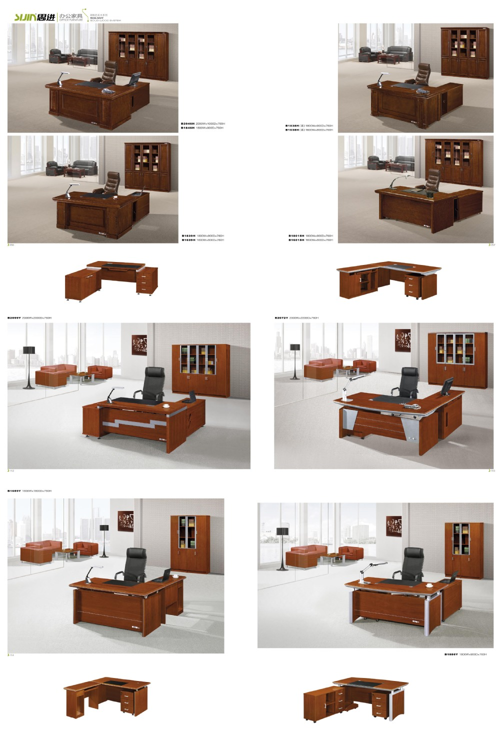 l shaped office executive office table designs luxury