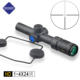 Discovery Optics 1-4X24mm IR Compact Hunting Rifle Scope Illuminated Red Green Dot #4 Reticle Weapon Sight