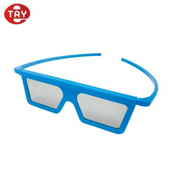 HOT Recommend Plastic Polarized 3D Free Sample Glasses
