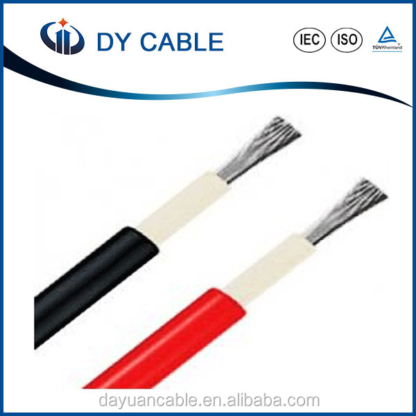 Electric solar panel cable/wire 10mm2 for solar energy system