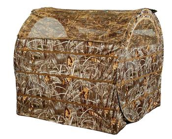 Tent Chair Easy Fold Over Ground hunting Blind