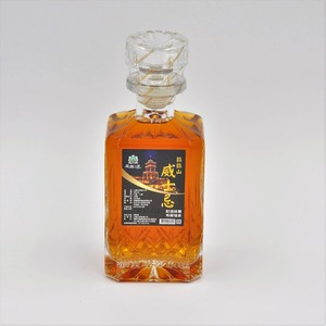 HACCP Customized blended whiskey single grain whisky 750 ml private label bottle