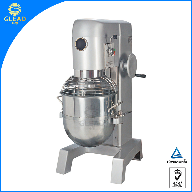 Stainless Steel commercial industrial electric large 50 litre food stand mixer for sale