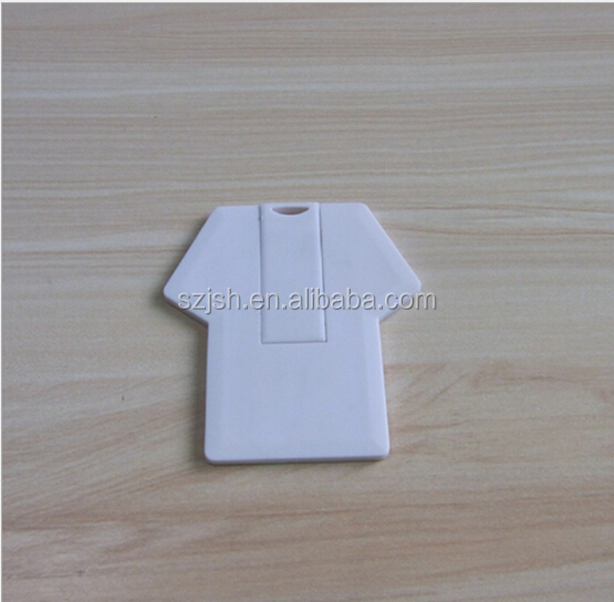 Factory Price Clothes Card Shape 2.0 USB Flash Memory For Promotion Gift