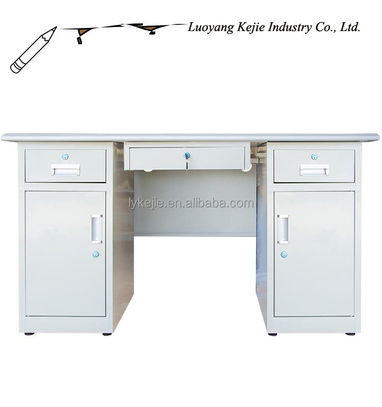 Modern China Desktop Computer Table /steel Office Computer Desk ...