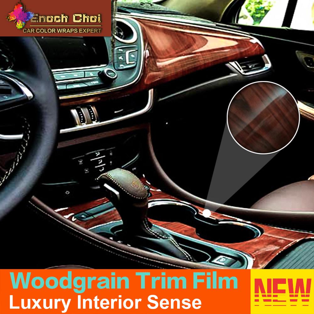 2016 nuevo auto envuelve la decoraci n interior del coche pegatinas 20 m mate grano de - Decoracion interior coche ...