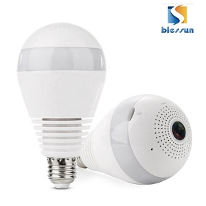 Hot 960P/1080P Panoramic Camera 360 degree wifi ip camera outdoor indoor light bulb security hidden camera
