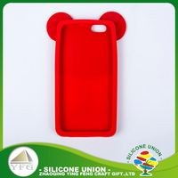 Factory direct sales interesting logo silicone universal case cover for 4.7 inch cell phone