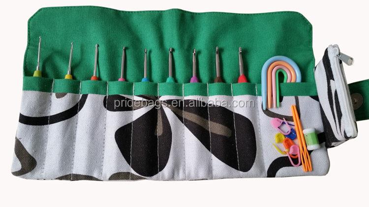Knitting Needle Kit Soft Grip Handles Aluminum Crochet Hooks 8pcs ...