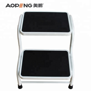 Fabulous Aopeng Circular Tube Two Step Steell Ladder For Home Ibusinesslaw Wood Chair Design Ideas Ibusinesslaworg