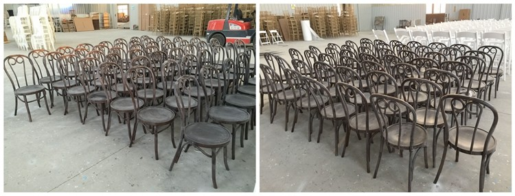 Genial Low Price Wood Thonet Chair, Stackable Bentwood Chair With Arms