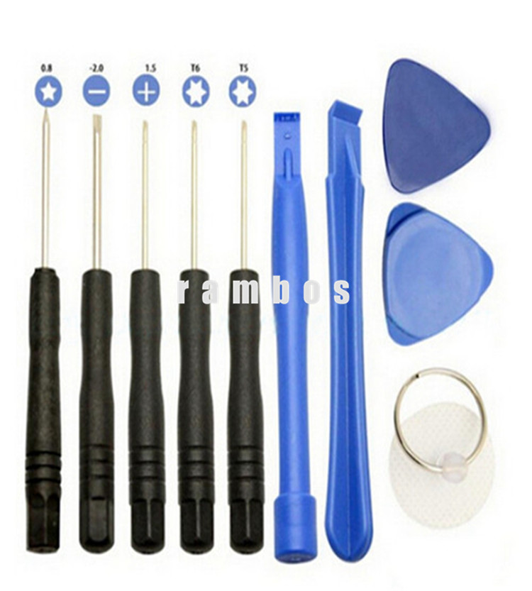11 in 1 Opening Pry Tools Repairs Kit Set Mobile Phone Tool Kits for Samsung galaxy S7 edge S7 S6 edge S6 Plus