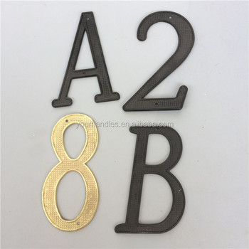 Zamak Numbers And Letters / Apartment Door Number/hotel House Number - Buy  Apartment Door Number,Numbers And Letters,Metal Letters And Numbers Product  ...