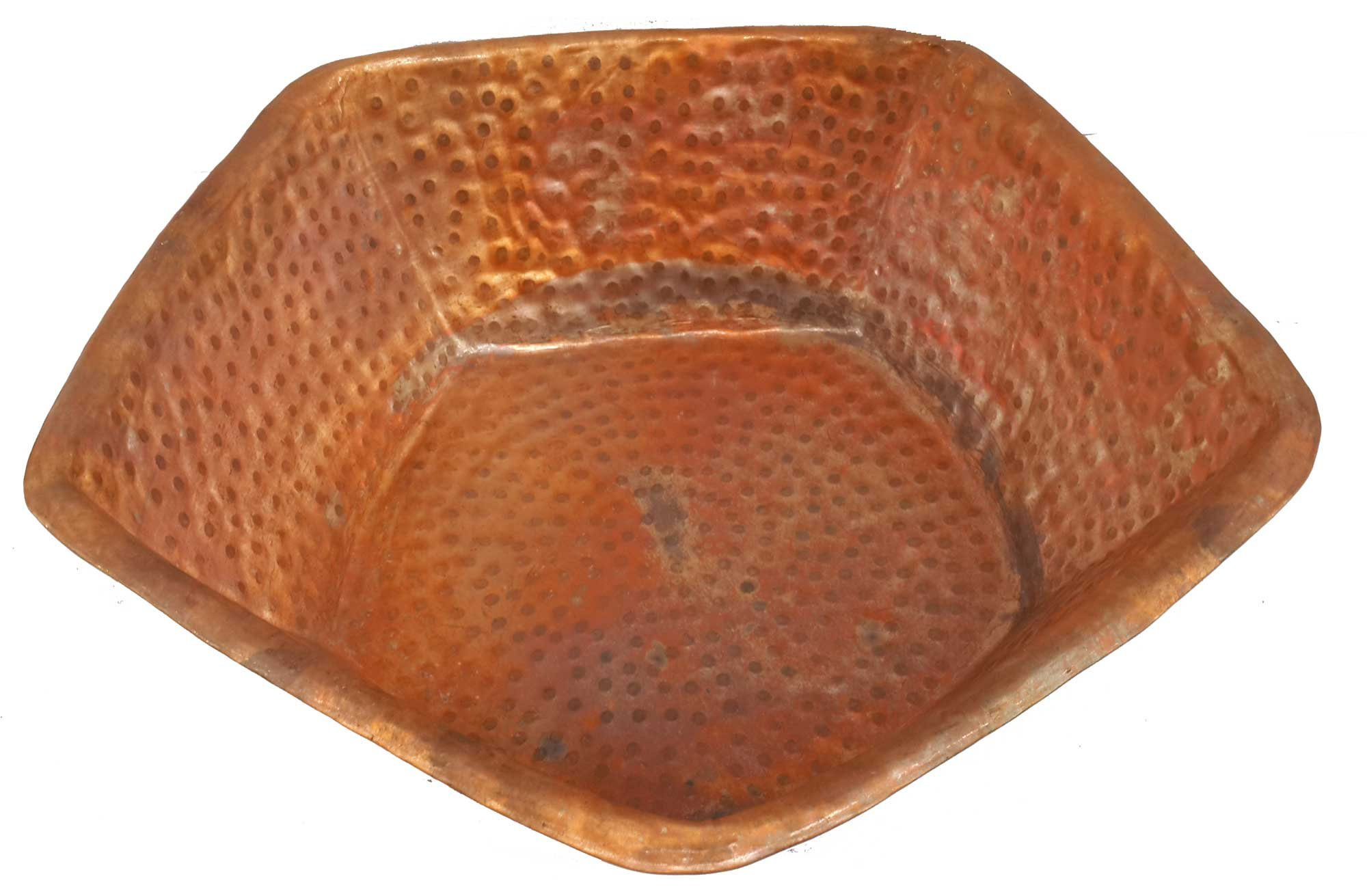 3eacc80b48f6 Get Quotations · Copper Foot Wash Soaker Pedicure Spa Pentagon Shape Bowl  Tub by Egypt gift shops