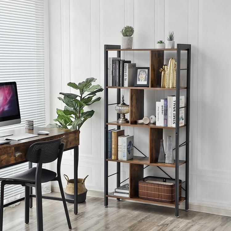 size 40 b93c9 1e57d Vasagle Furniture Industrial Vintage Wood Book Shelf,5-tier Storage  Rack,Floor Standing Bookcase In Living Room Office Study - Buy Book  Shelf,Storage ...