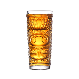 Tiki Highball Glasses Hawaiian Cocktail Tumblers TIKI Bar Cocktail Glasses Ideal for a Cocktail Rum