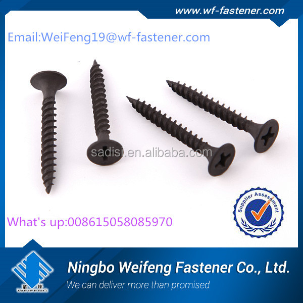 Chinese fastener High quality and Competitive price bulge head drywall screw gypsum screw for new del market