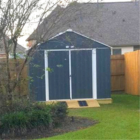 Hot sale modern cheap colorful customized size shape styles prefab garden shed room outdoor garden tool shed