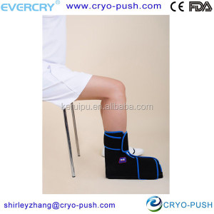 Ice cold wrap cold pack for ankle sports sprain soccer football injury