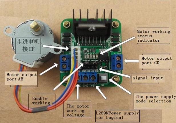 L293D Arduino Lesson 15 DC Motor Reversing