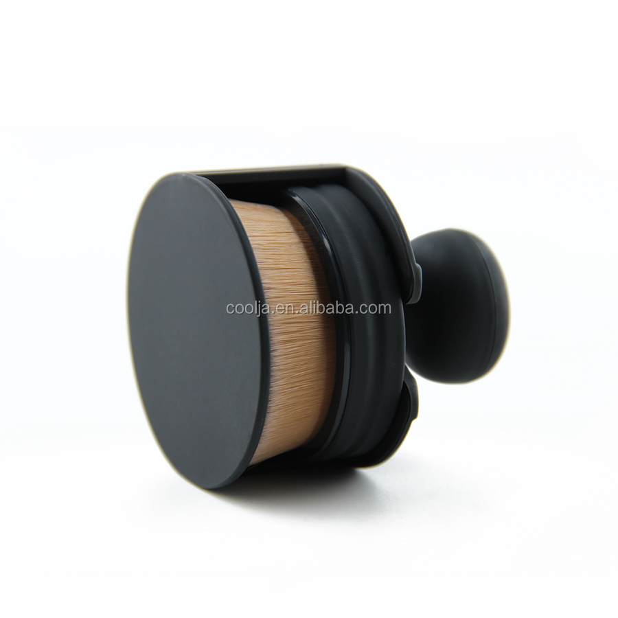 Kreis Make-Up Pinsel 35 Winkel Foundation Cream Powder Micro Feinen Schönheit Oval Bilden Bürsten Mit Halter