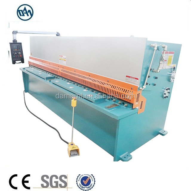 factory 4*3200 E21S control system hydraulic shears, steel plate guillotine shearing machine