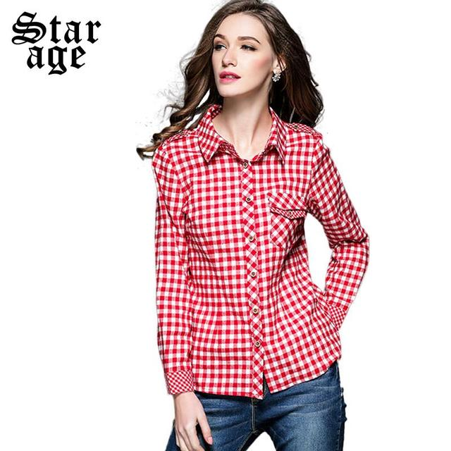 Find great deals on eBay for red white plaid shirt. Shop with confidence. Skip to main content. eBay: Shop by category. Shop by category. Enter your search keyword Womens Red White Plaid Roll-Tab Sleeves Button-Down Tops Shirt Tunics S M L XL. Brand .