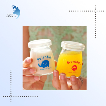 Soft Drink Small Glass Food Tin Container For Jam Buy