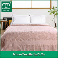 New Arrival Design! MMY Brand 100% Cotton Blankets Floral Jacquard Towel Blanket on Bed/Sofa Throw Blankets bed sheeting