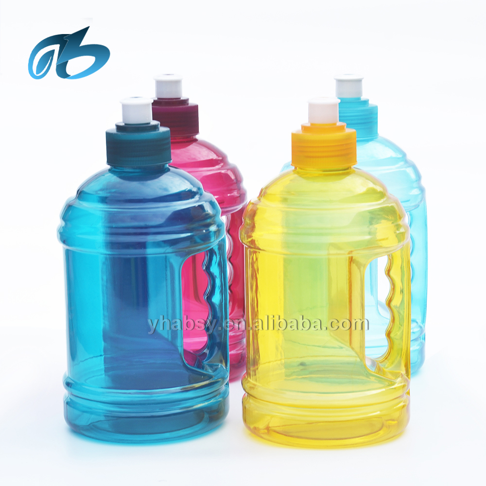 Custom Water Bottle 2 2l Jug Gym 1l Plastic With Lid And Handle Product On Alibaba