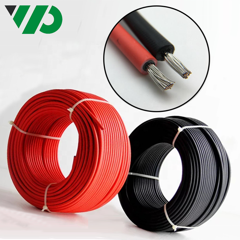 4703 Wire Approved Pv Solar Cable Pv1f 4awg 600v/1000v Sunlight Resistant Cable