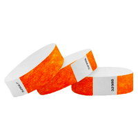 High Quality Tearproof Paper Custom Tyvek Wristbands