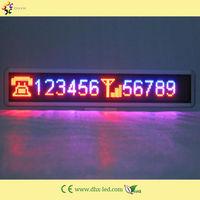 P10 led tri-color display panel