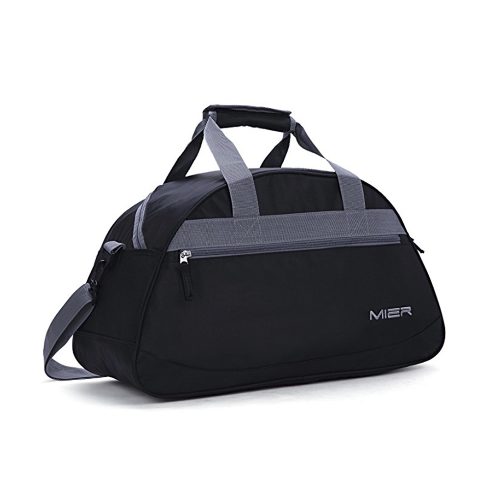 "Stylish Multi-function Unisex 20"" Sports Gym Bag Travel Duffel Bag with Shoes Compartment"