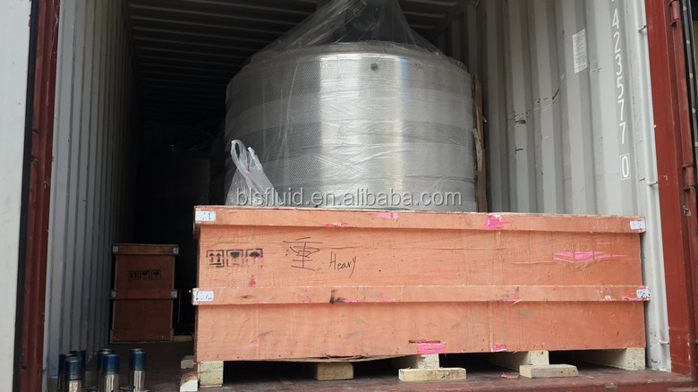 100-5000L food syrup mixing tank in stainless steel material