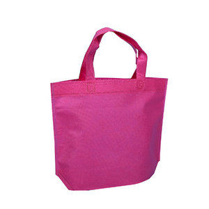 Wholesale eco friendly reusable foldable 100% biodegradable non woven bags