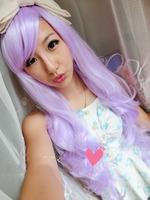 Amazing Long Straight Wig Cosplay Long Hair Wigs Beautiful Blue ...