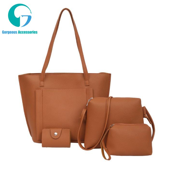 1c1aa0b16 Las mujeres bolsa de material compuesto Multi-color de lujo bolso de cuero  y bolsos