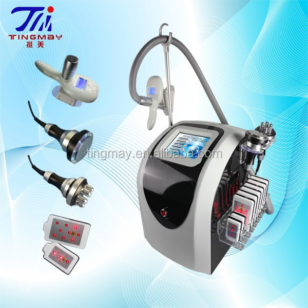 4in1 Cryolipolysis +40K Cavitation+8 Lipo Laser + RF Body Slimming Machine