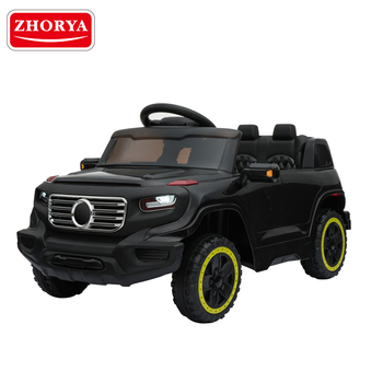 Zhorya newest double drive remote control kids ride on car with MP3 player