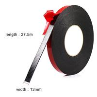 1/2-Inch x 30 Yards (13mm x 27.5m).Foam Mounting Tape. Heavy Duty Double Sided Tape.Removable. with Weight