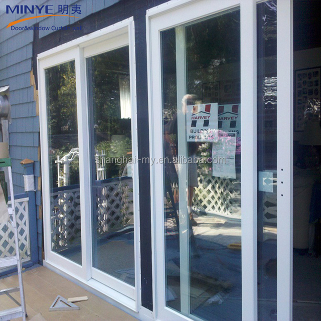 Main Door Grill Design In PVC Profile With Sliding