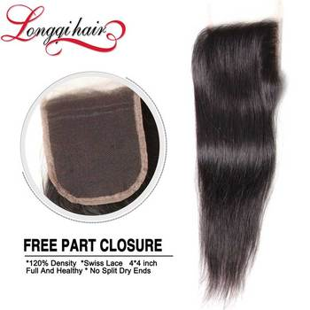 Cheap Products Best Selling Indian Human Hair Free Parting Lace Closure