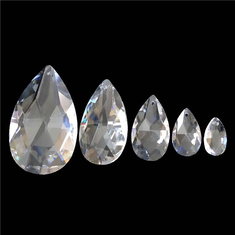 Il trasporto Libero 30*200mm Triangolare prisma di vetro pendenti clear/trasparente casa lampada/parti lampadario di cristallo prismi per la vendita