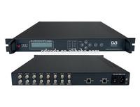 SC-2135 Digital TV Broadcasting Equipment 8 Channels satellite receiver DVB-S/S2 to IP Gateway