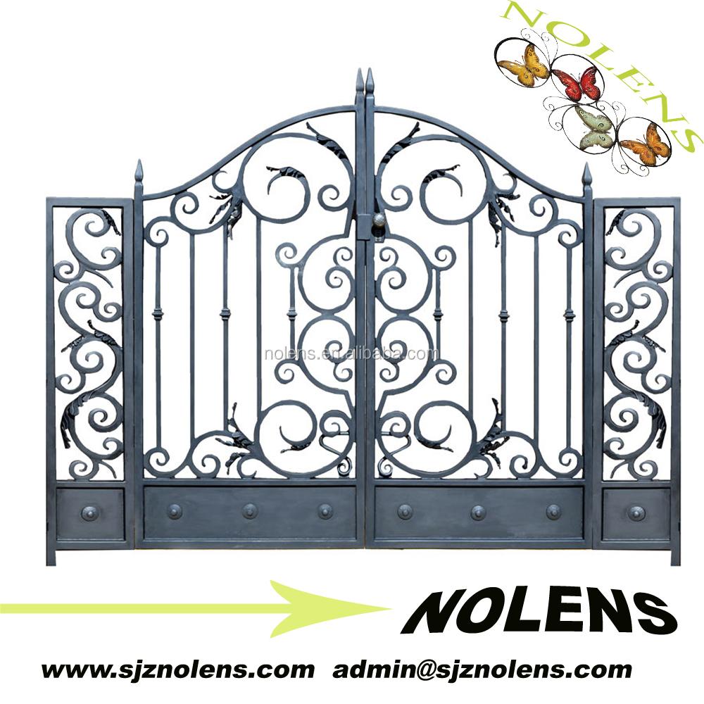High-performance Residential Main Garden Iron Gate Designs/cheapest ...
