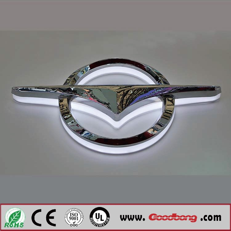 Chinese Brands D Chrome Car Logo Signs With Namesmetal Badge For -  signs of cars with names