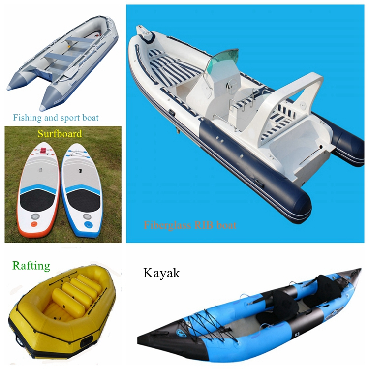 RIB 420 Alibaba Supplier Hypalon Inflatable Fiberglass Fishing Rigid Boat With Outboard Motor