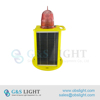 Portable LED Low Intensity Solar Aviation Obstruction Light/building aviation warning light